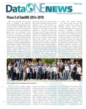 DataONE Summer 2014 Newsletter
